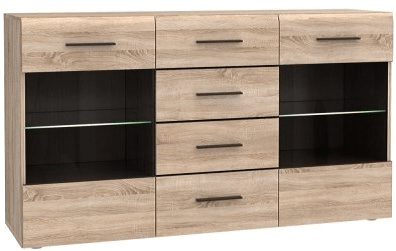 SOLO Chest of drawers 2W4S